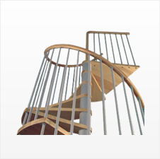 Machines for wood stairs manufacturing