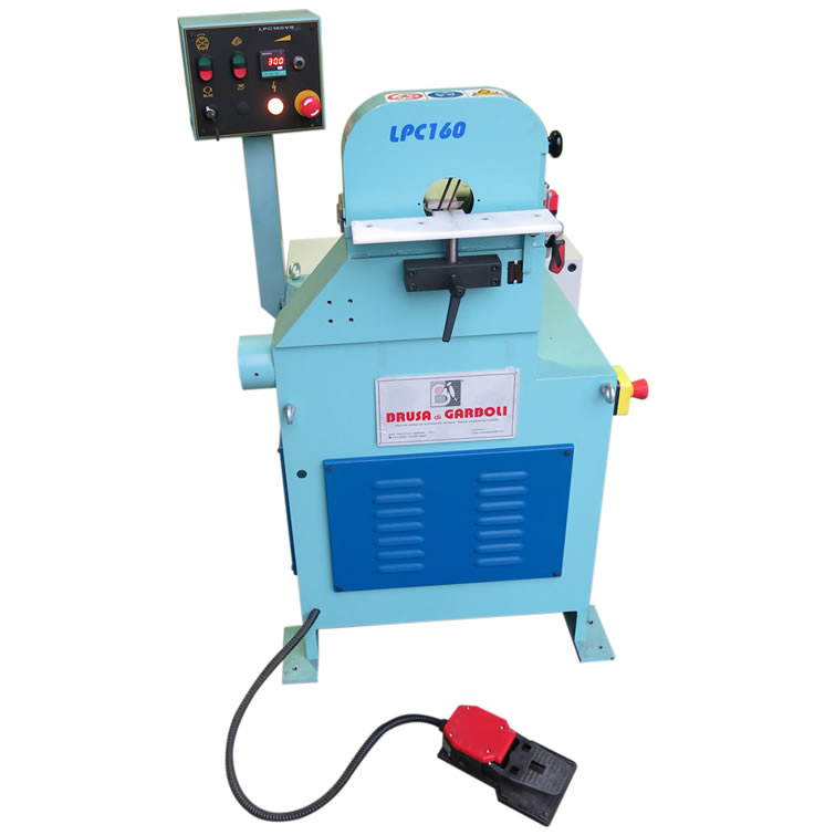 Orbital sanding machine for straight and curved wood parts – LPC 160