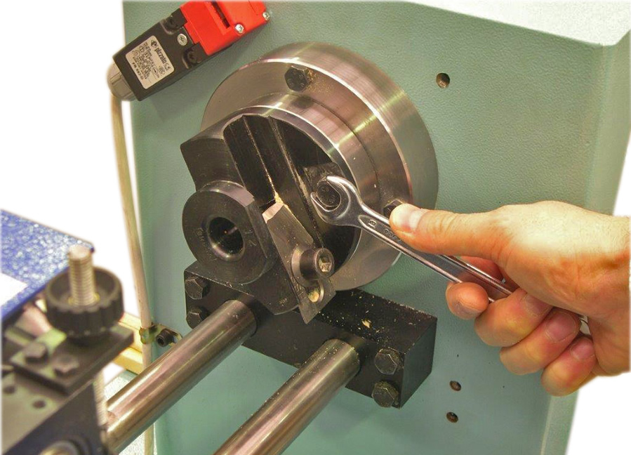 Doweling tool for wood rod milling machine TA 30