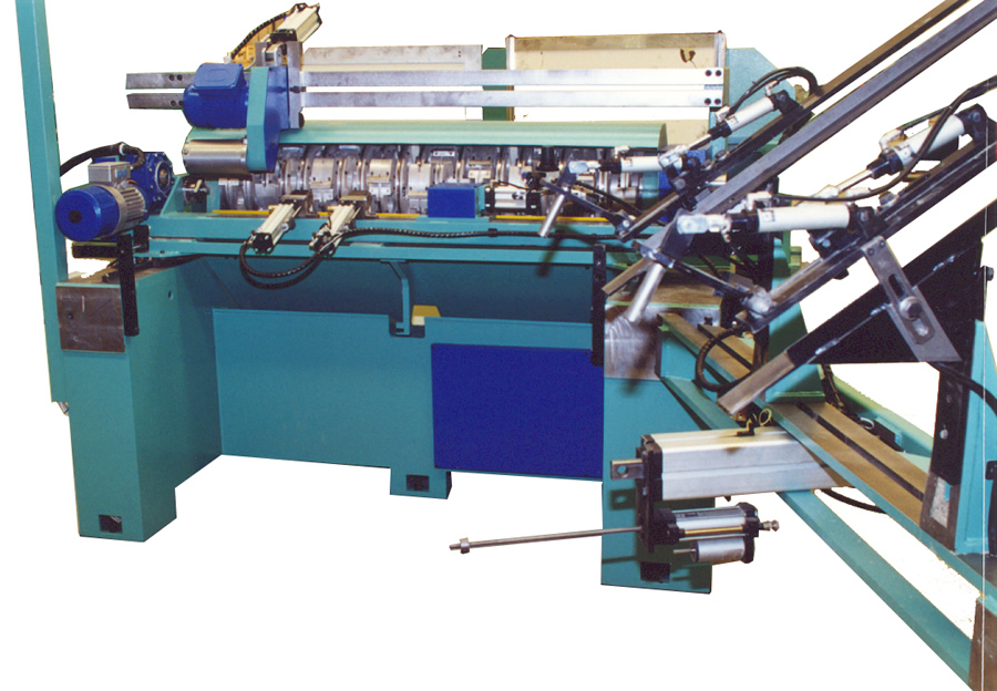 F14 Copy lathe machine hinged loader