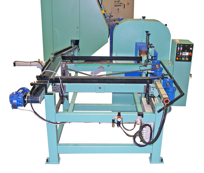 F14CN milling and sanding line with sander