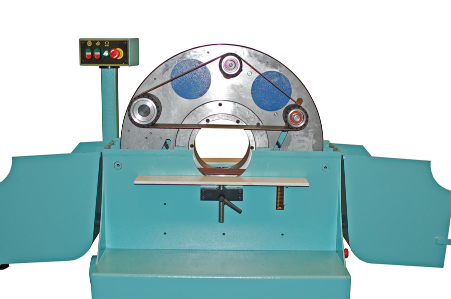 Main disc of the wood belt sanding machine for big poles – LPC 500