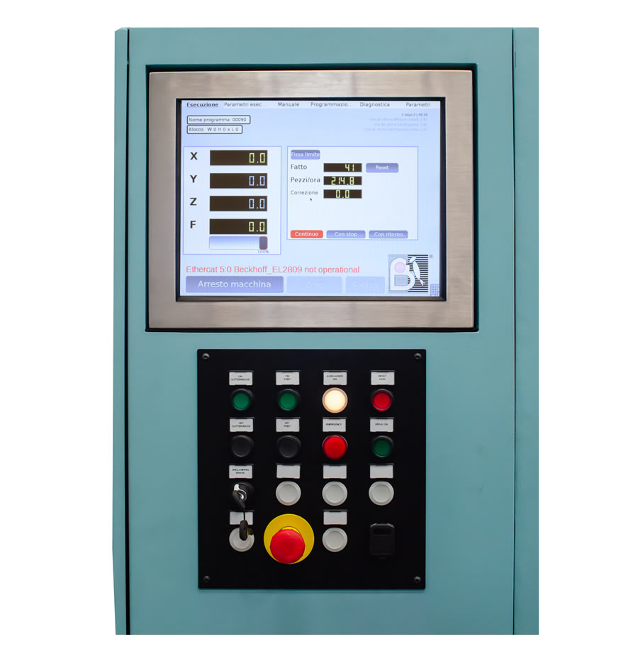 CN numeric control of the CN milling machine – TS 60 CN