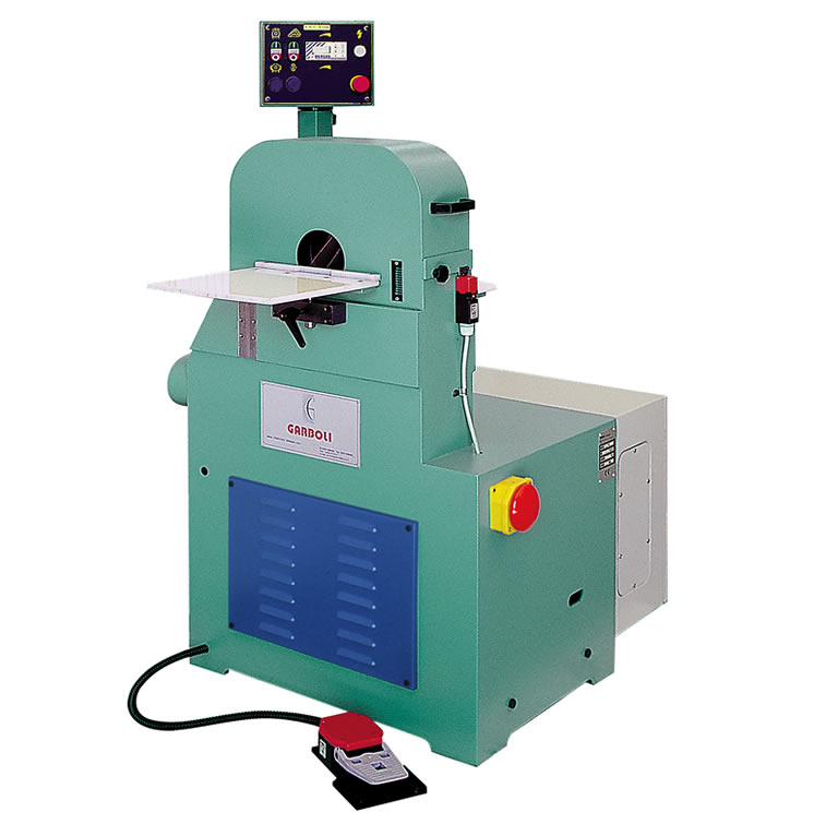 Orbital wood sanding machine for bent and straight rods – LPC 300