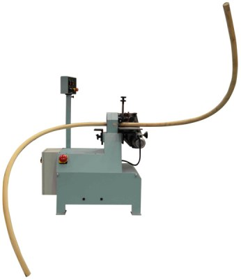 Spiral stair fitting process with rod dowel machine TPC 45-60