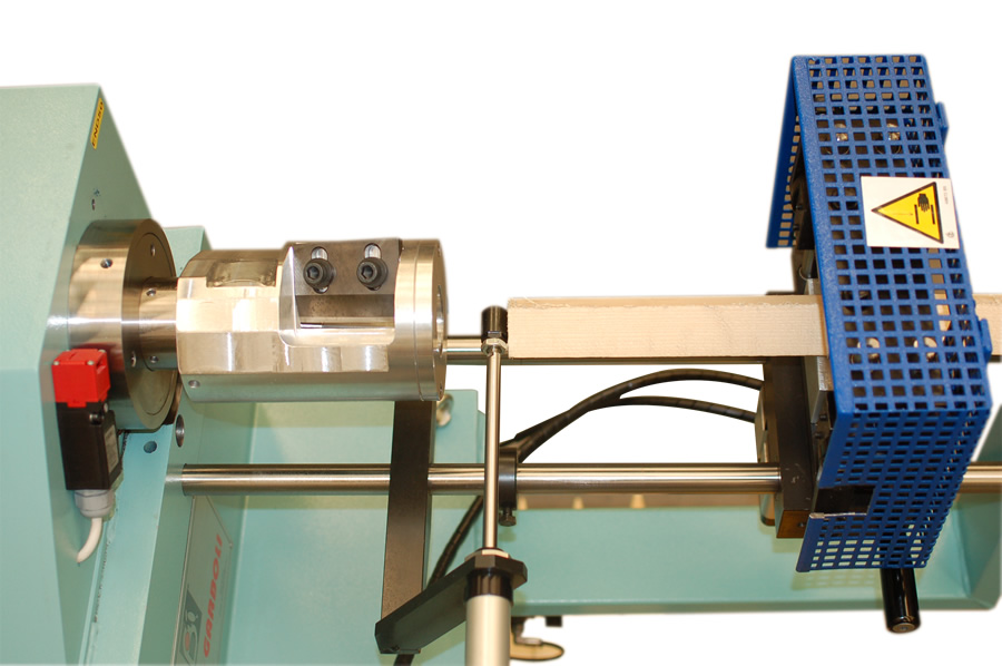 Taper end shaping of the wood endshaping machine – END 50