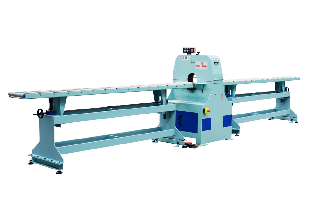 Wood belt sanding machine for big poles – LPC 500