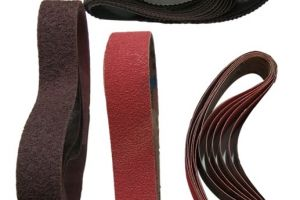 Abrasive Belts Examples Orbital Sander For Wood Round Bars LT 130