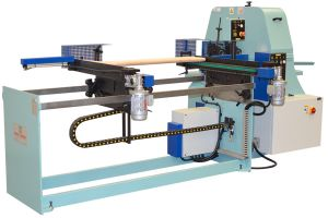 Cuv Automatic Loader Belt Sander For Taper Wood Poles LT 200