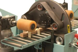 Pad Equipment Orbital Sanding Machine For Straight And Curved Wood Parts LPC 160