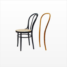 Machines for wood Thonet chairs manufacturing