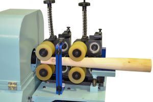 Selfcentering Feed Alt For Taper Parts Orbital Wood Sanding Machine For Bent And Straight Rods LPC 300